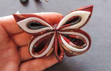 Silk butterfly tutorial 16