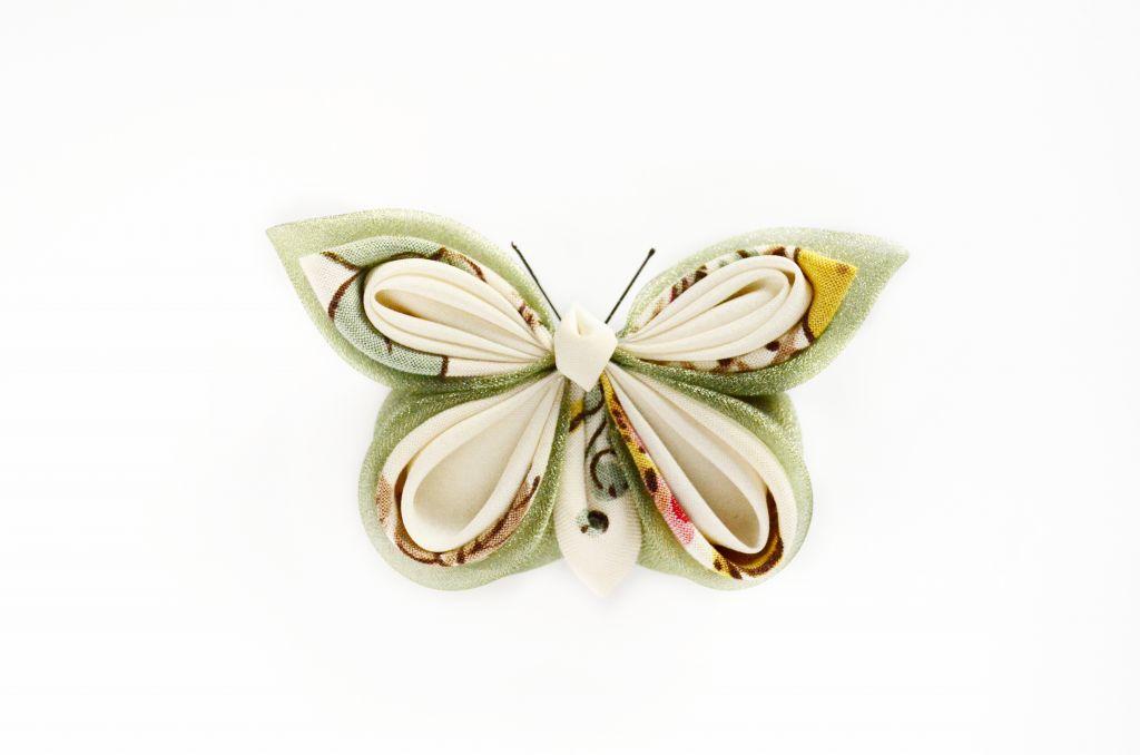fluture verde padure