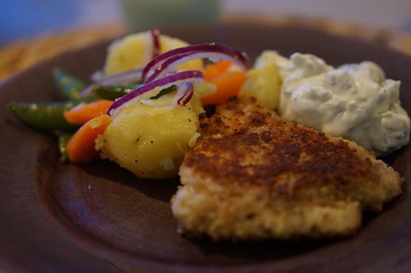 Fiskpinnar-ljummen-potatissallad