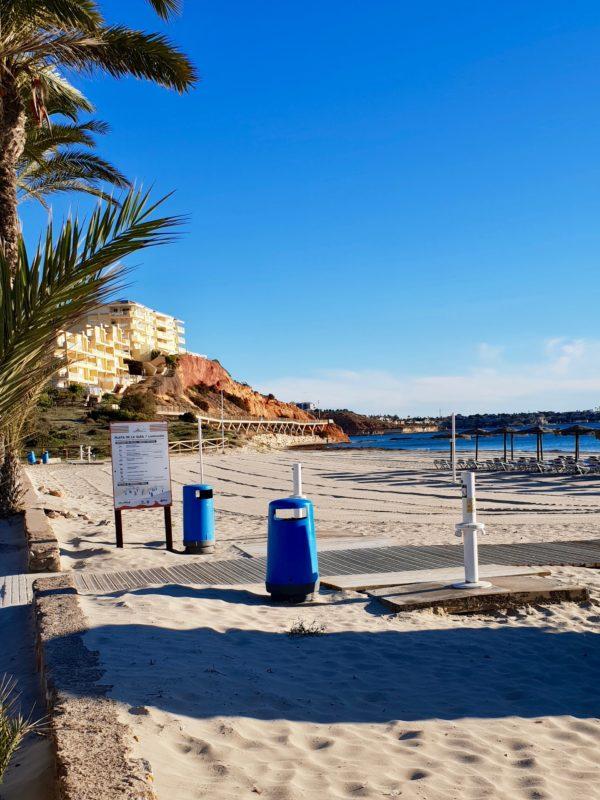 Strandpromenaden i La Glea