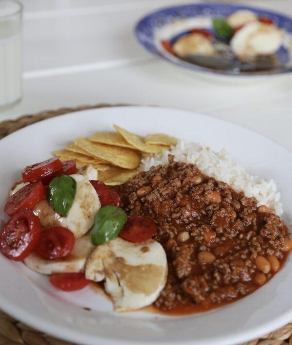 Chili qourn carne