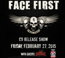 Face First CD Release show feat. Heaviside