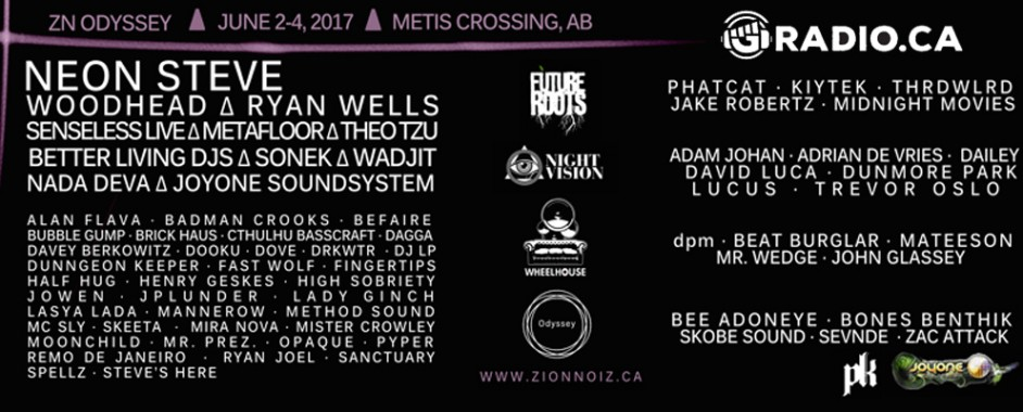 Zion Noiz: Odyssey live on GRadio.ca