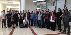 Visita de 1º y 2º DAM Gregorio Fernandez UVA informática