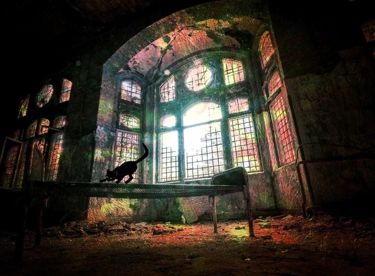 Strah v Stopniškem gradu in uboga pastorka