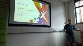 Lee Stott, Microsoft Tech Evangelist @ Get In The Game Abertay University