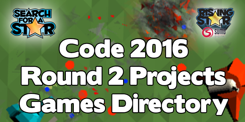 SFAS & RS 2016 Games Directory