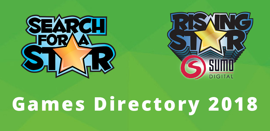 Search For A Star 2018 Games Directory