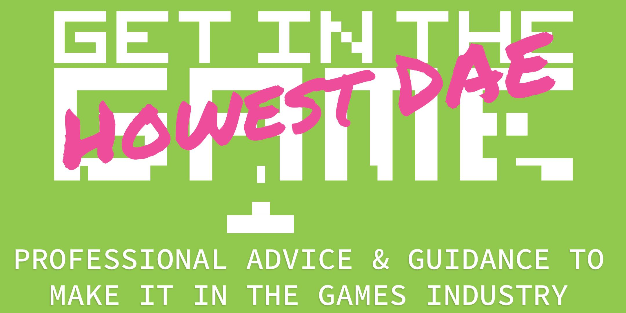 Get In The Game Careers Talks; Howest