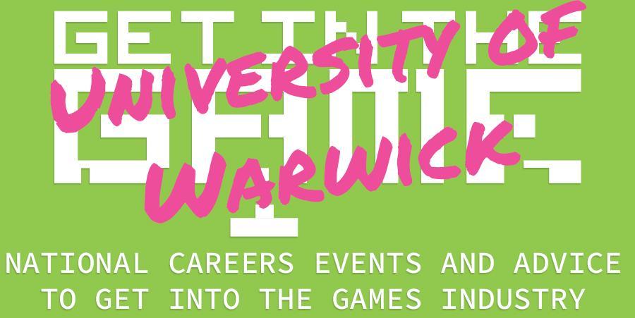 Get In The Game Careers Talks; University of Warwick