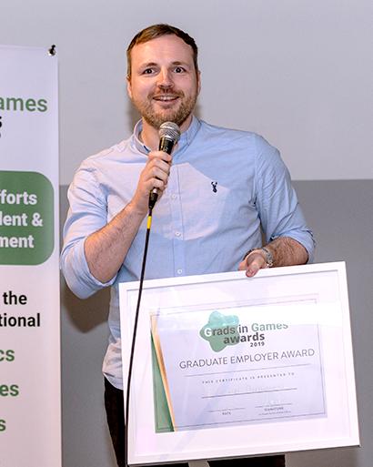 Frontier Developments, 2019 Winner Grads In Games Graduate Employer Award
