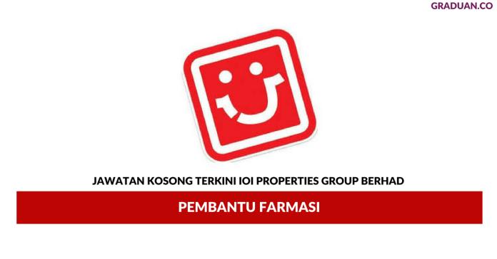 Permohonan Jawatan Kosong Terkini IJ Pharmacy (PI) Sdn Bhd