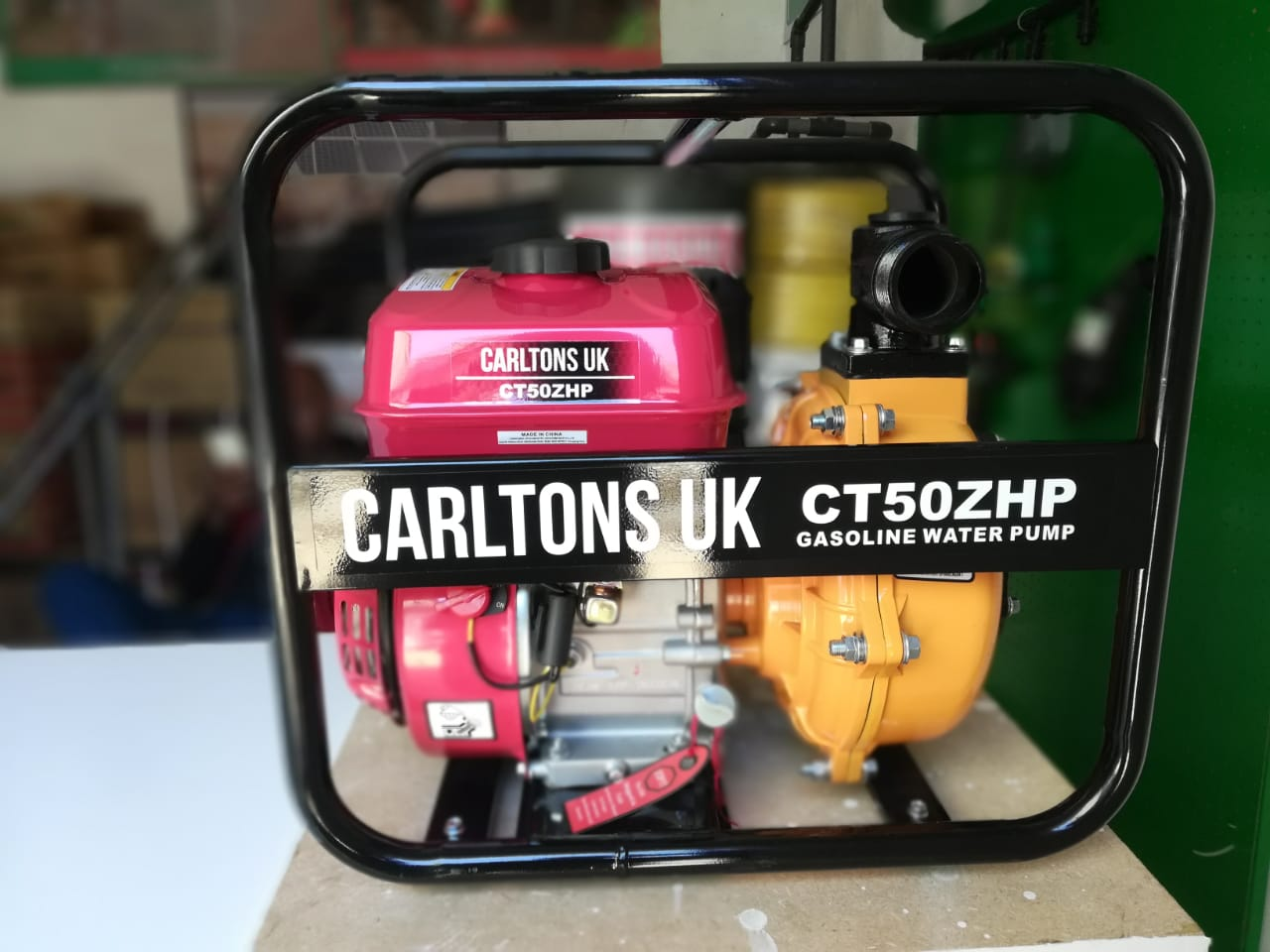 CT50ZHP High Pressure Petrol Water Pump