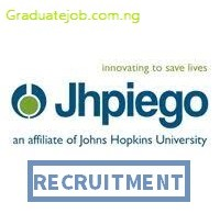 Front Desk Assistant at Jhpiego