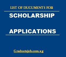 7 Documents You May Need For Your Scholarship Application