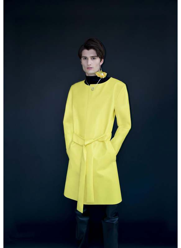 Lenny Murr's original design for a Yellow Coat. (Photo Courtesy/Lenny Murr)