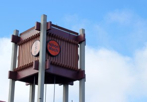 The sign designating the center of Japantown.