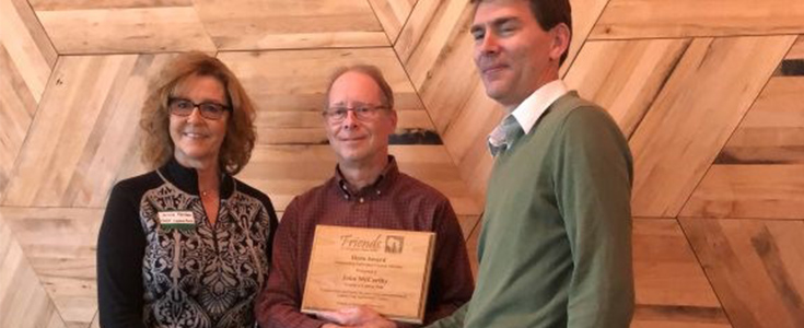 McCarthy Hero Award by the Friends of Wisconsin State Parks