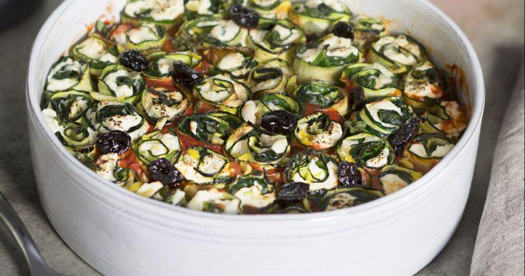 Die Zucchini ins Rollen gebracht