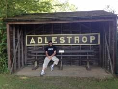 Adlestrop 9th July, 2015 - photograph courtesy of Jane Goldsack