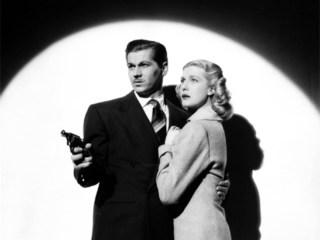 Ron Randell and Anita Louise in Bulldog Drummond at Bay