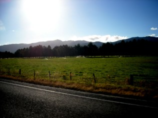 Inangahua Valley with the Paparoas out west