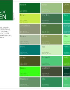 Shades of green color pattern chart also palette  graf  rh