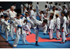 Kobe Osaka karatemóti í Skotlandi I