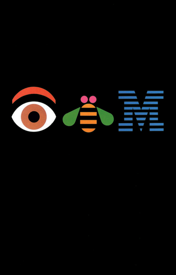02 IBM Paul Rand Los 10 posters más admirados por su diseño en 50 años de historia