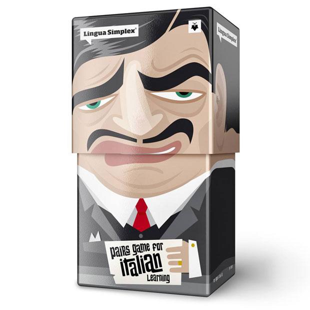 03 LinguaSimplex Lingua Simplex, divertido y esterotipado packaging de Amelung Design