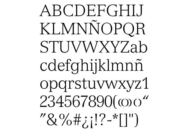 Tipografía Versailles de A. Frutiger