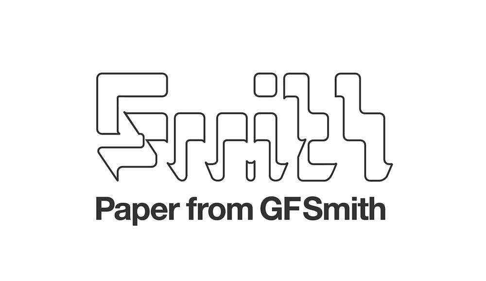 GF Smith, antiguo logotipo de 2003 diseñado por SEA.