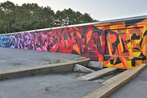 Maine Graffiti Artist Hire - Portland Art Usa