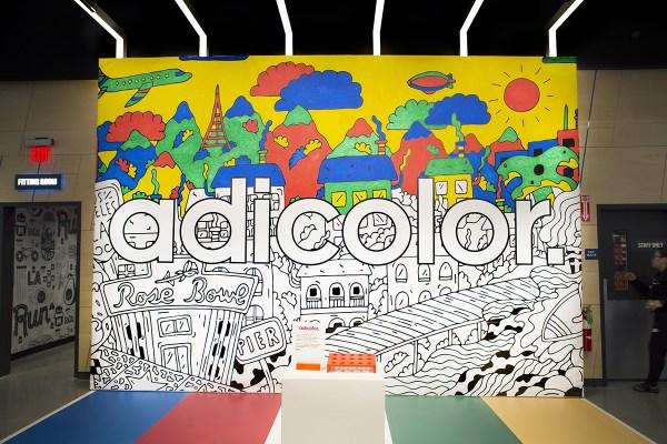 Live Murals Adidas Finish Line Collaboration