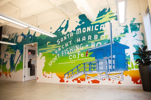 Corporate Office Murals - Graffiti Art Interior Design