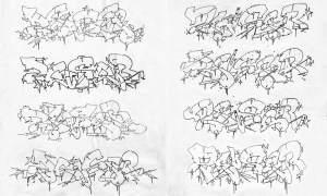 Simple Zeus Drawings Easy 2