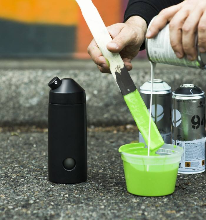 DIY Pump Spray Can for Graffiti Artists & Street Artists
