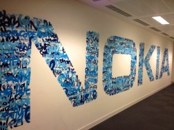 Nokia Office Graffiti Mural Artwork