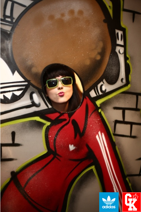 adidas customize eyewear graffiti