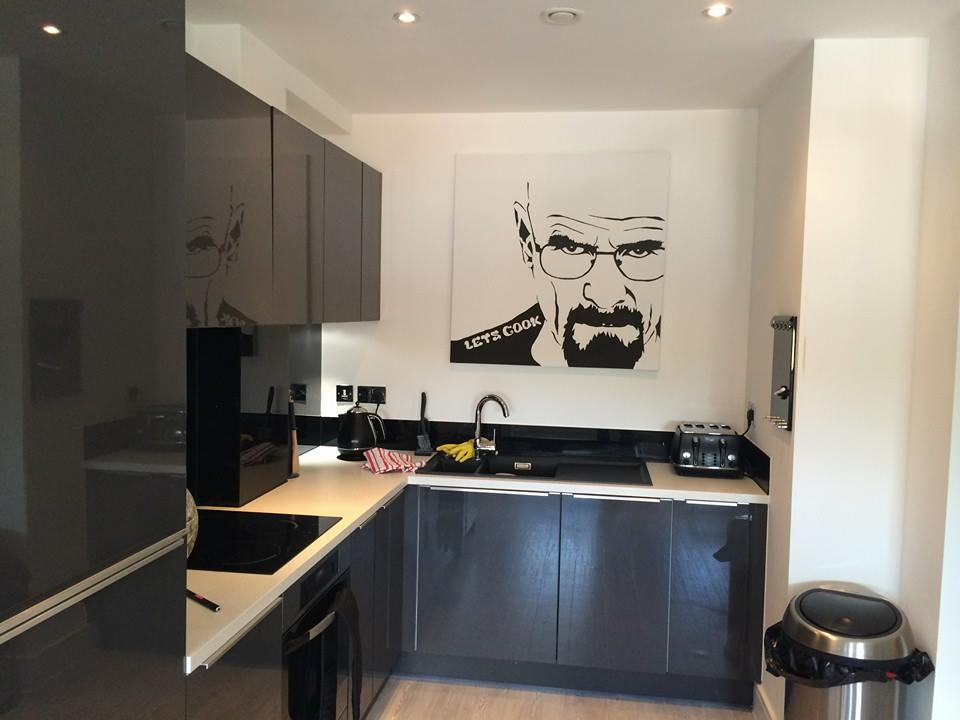 walter white breaking bad artwork for sale