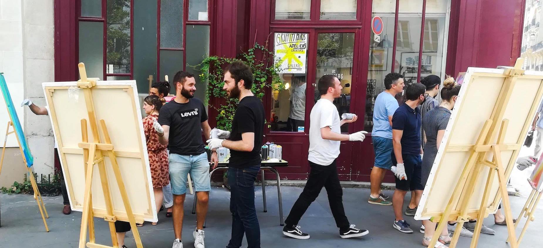 atelier fresque street art paris