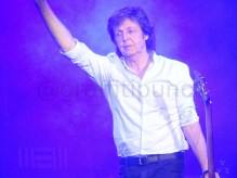 Paul McCartney at London's O2 Arena