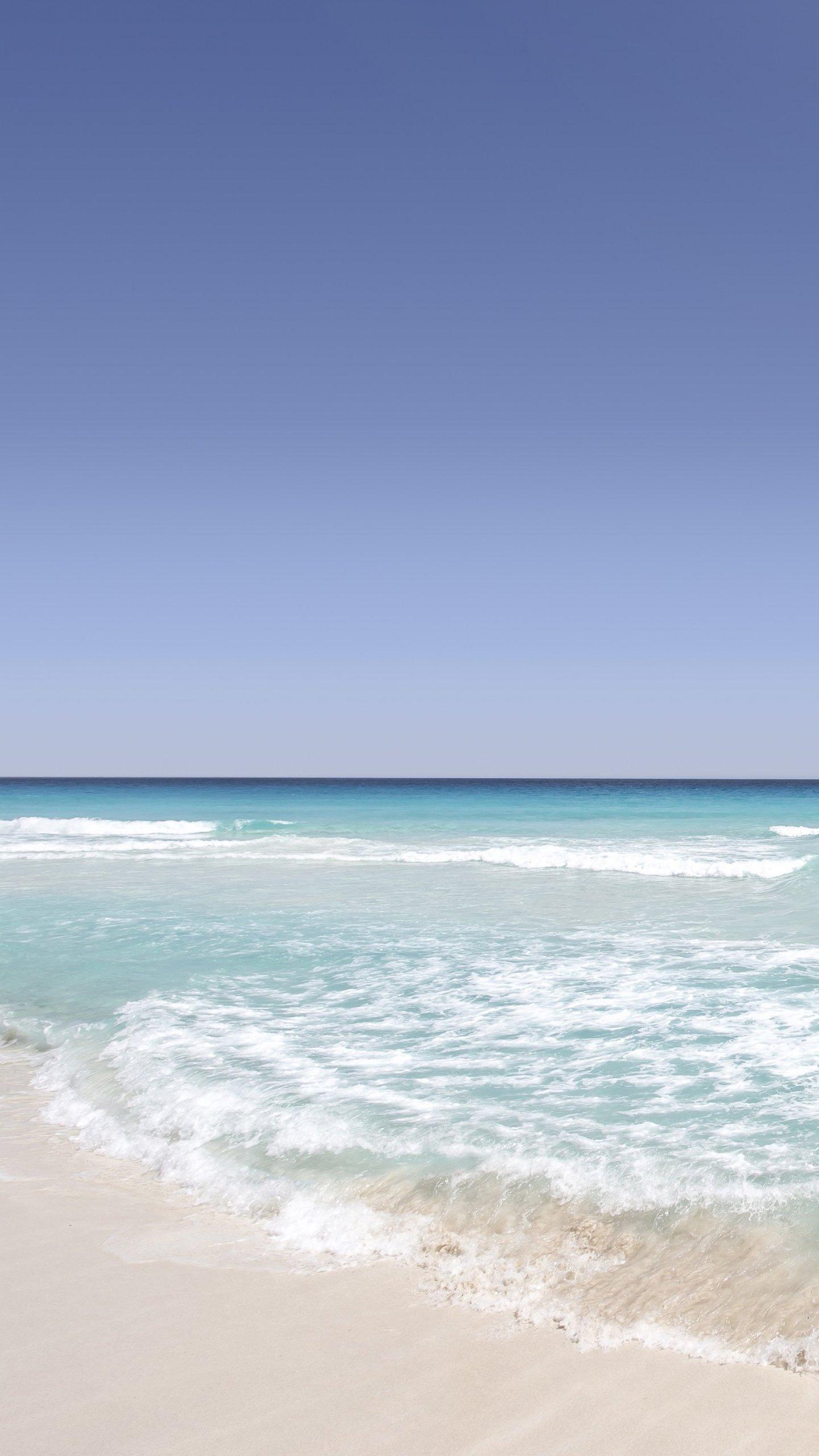 tropical sandy beach wallpaper