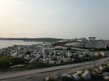 On the road to Peggy's Cove