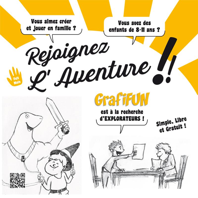 Explorateurs GrafiFUN Aventure