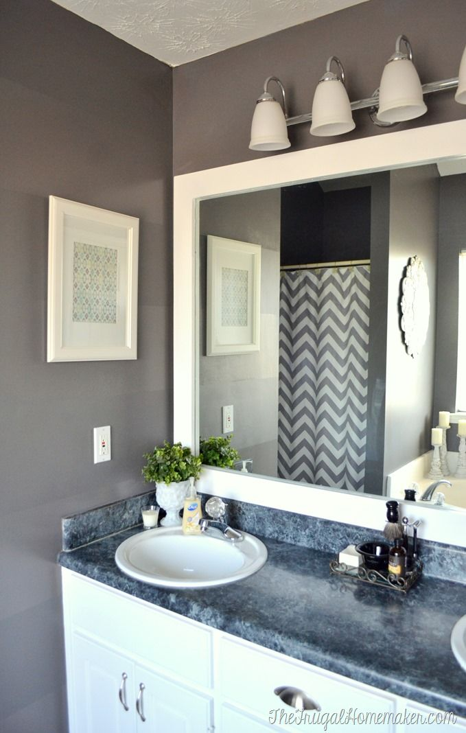 Framed Bathroom Mirrors Also Large Bathroom Mirror With Lights Also White Bathroom Vanity Mirrors Framed Bathroom Mirrors 2 Or 1 Inspiration Home Magazine