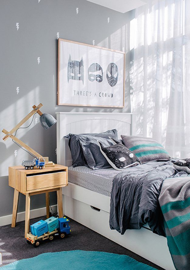 boys bedroom suitable with