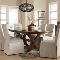 Material To Cover Dining Room Chairs Exercise Ball Office Chair Workout Slipcovers With Designs Up Any Weakness Inspiration Home Magazine