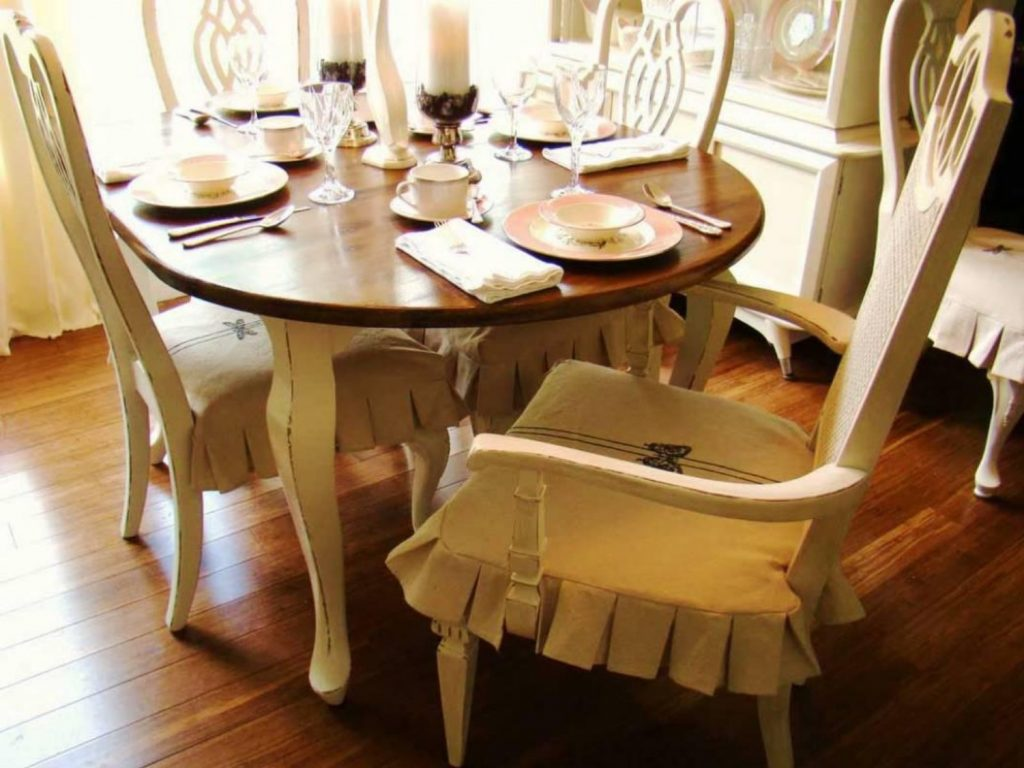 dark brown dining chair covers walking cane room slipcovers with designs to cover up any weakness inspiration home magazine
