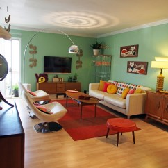 Retro Style Living Room Furniture Curtain Styles For And Plus Sets Cheap